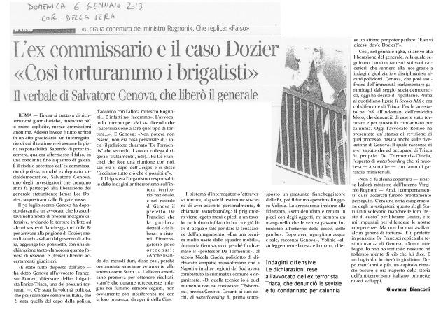 Corriere della sera dom 6 gennaio 2013