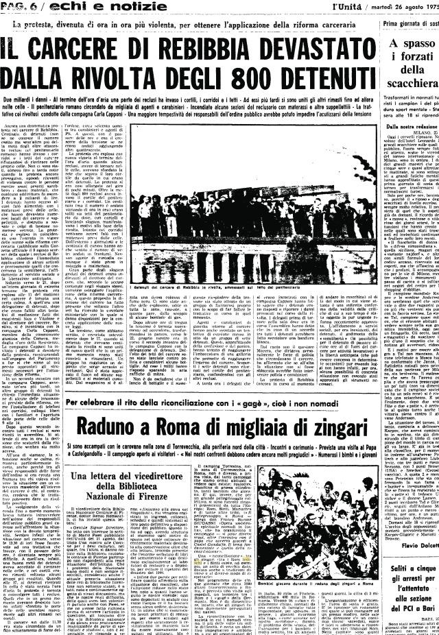 UnitàRebibbia 1975