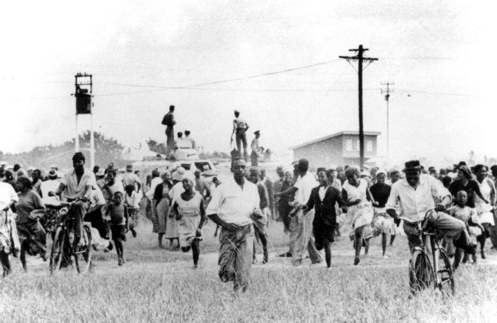 Sharpeville razzismo discriminazione apartheid