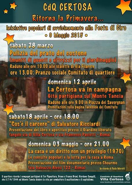 Certosa- 18 Aprile
